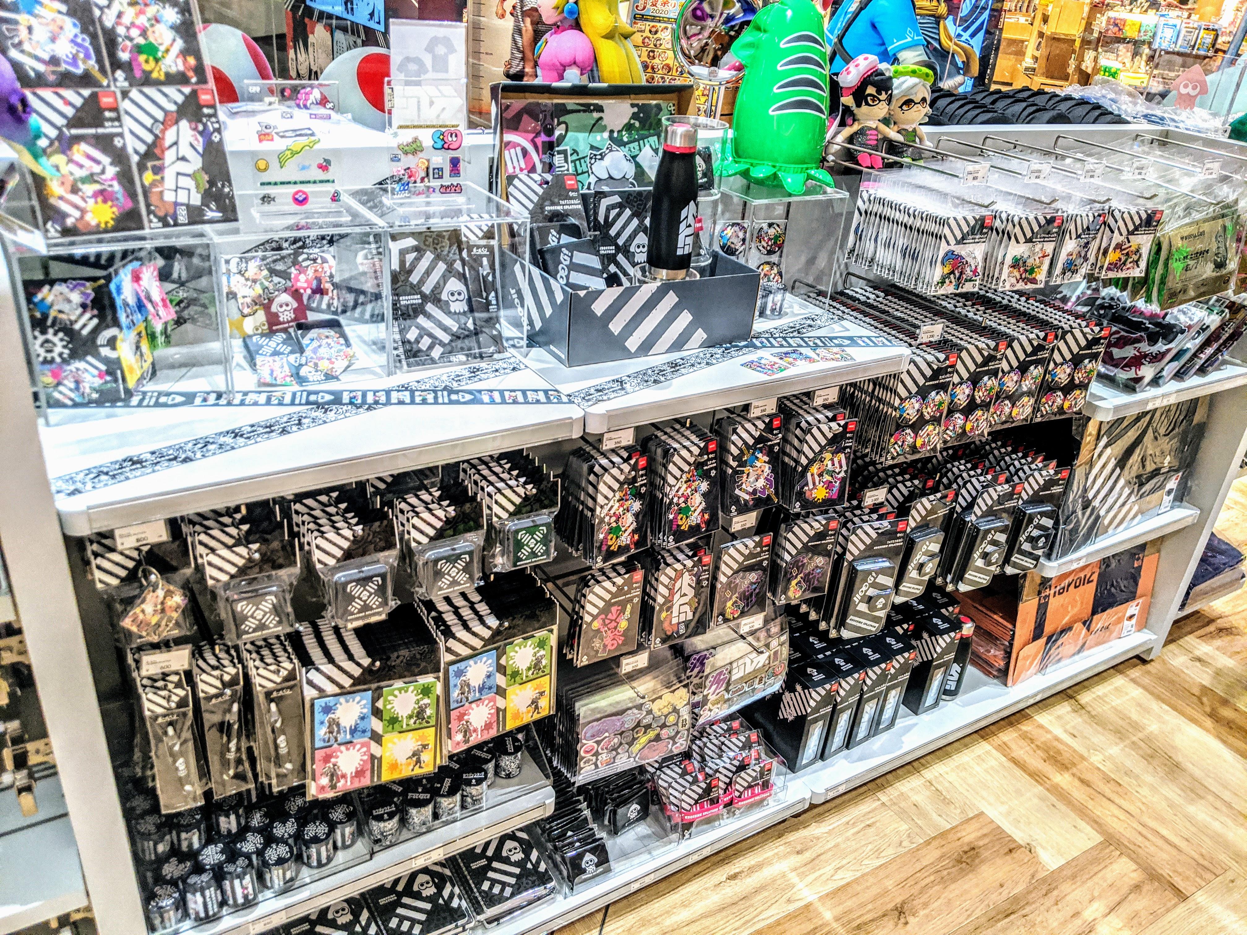 Nintendo TOKYO (任天堂)のスプラトゥーングッズコーナー preview