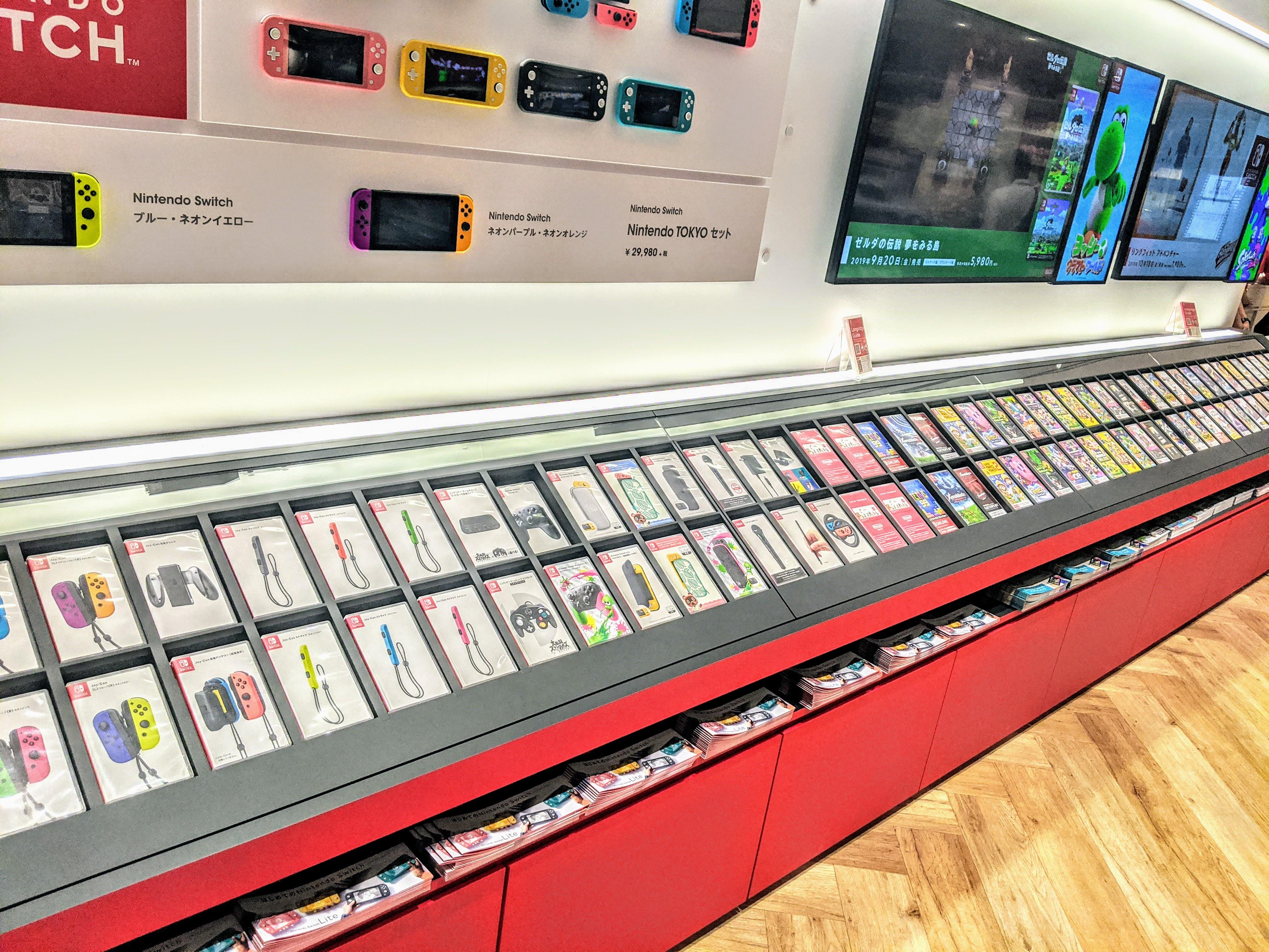 Nintendo TOKYO (任天堂)のゲームコーナー preview